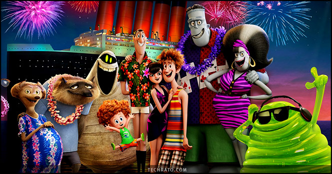 انیمیشن هتل ترانسیلوانیا 3 : تعطیلات تابستانی ماه جولای 2018 اکران خواهد شد