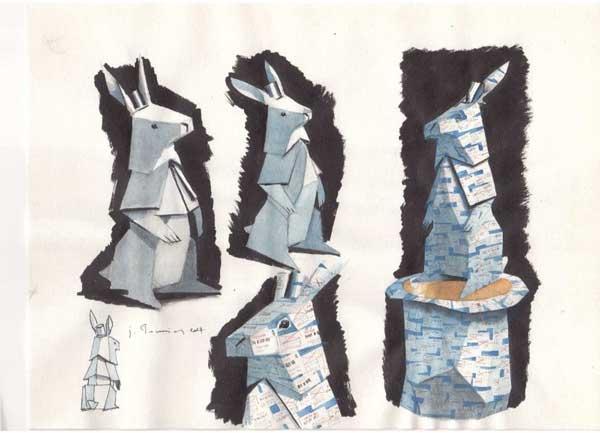 خرگوش کاغذی تاکیدی بر قدرت و ضرورت شکستی است که میتواند زمینهساز رشد و پیشرفت کارآفرینان باشد