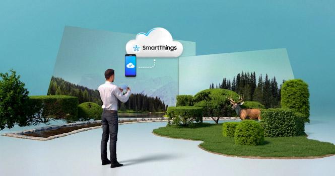 زنذگی راحتتر با گلکسی S9 و اپلیکیشن SmartThings سامسونگ