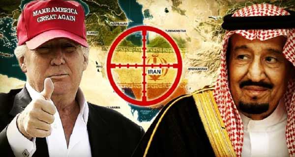 نقش عربستان در تحریک ترامپ
