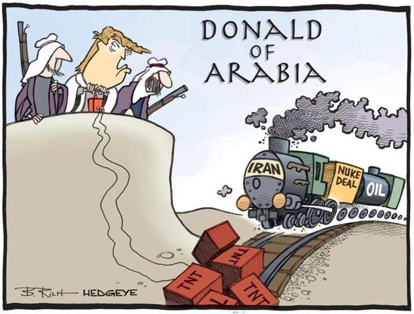 نقش عربستان