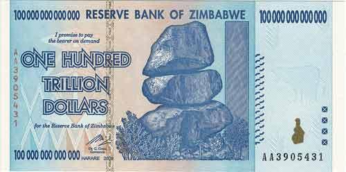 اسکناس زیمباوه