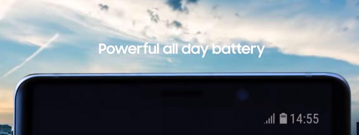 باتری 4000 میلیآمپری گلکسی نوت 9