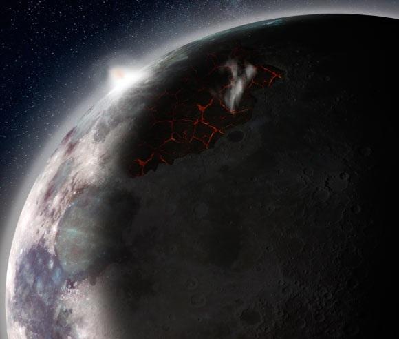 حیات در ماه
