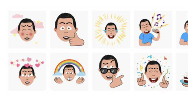 تبدیل سلفی به استیکر کارتونی با اپلیکیشن کیبورد مجازی