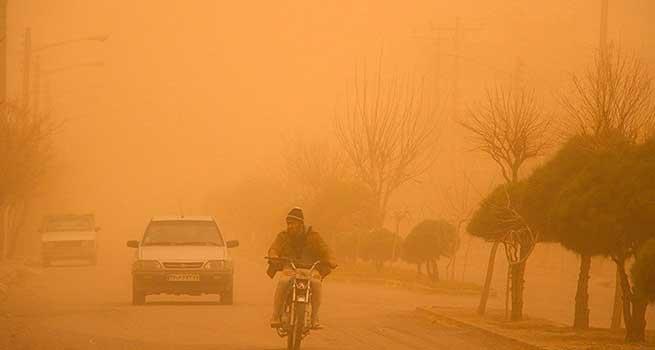 افزایش غلظت ذرات معلق در هوای سیستان تا ۱۰ برابر حد مجاز