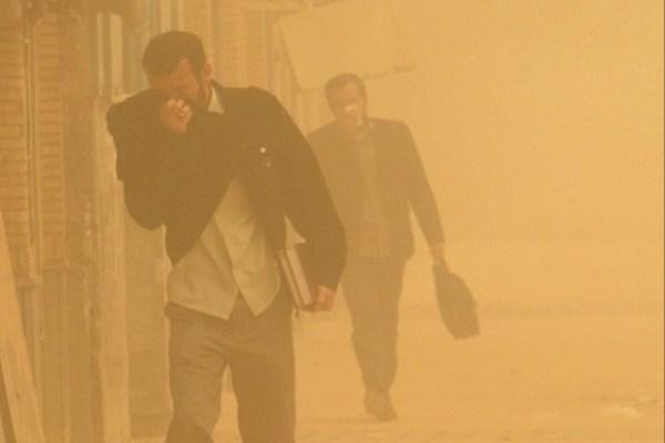 افزایش غلظت ذرات معلق در هوای سیستان