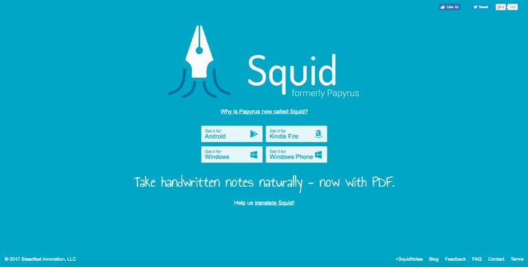 اپلیکیشن Squid