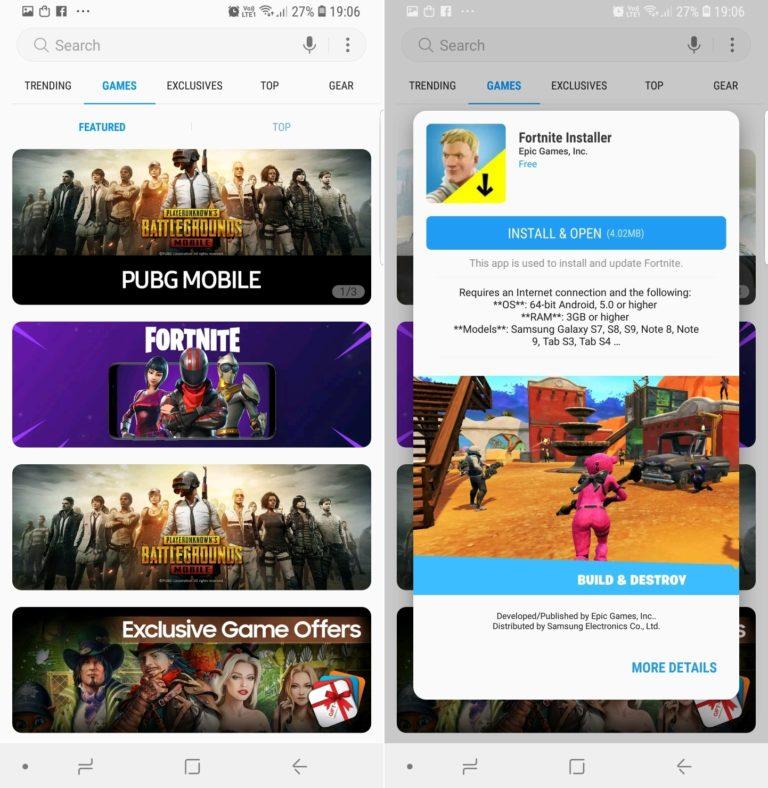 آموزش نصب Fortnite برای گوشی های گلکسی سامسونگ