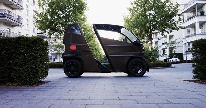 خودروی الکتریکی iEV X ؛ ابعاد ماشین بسته به نیاز شما تغییر میکند [تماشا کنید]