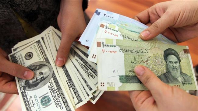 ارزش ریال در برابر دلار