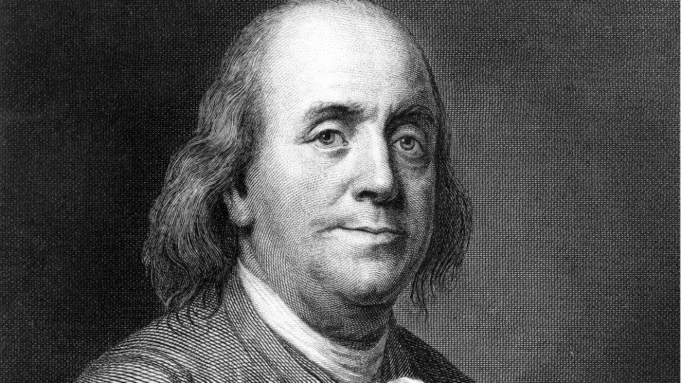 بنجامین فرانکلین؛ مخترع قانون پنج ساعتی