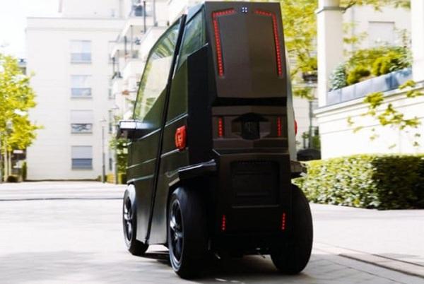 خودروی الکتریکی iEV X با ابعادی متغیر