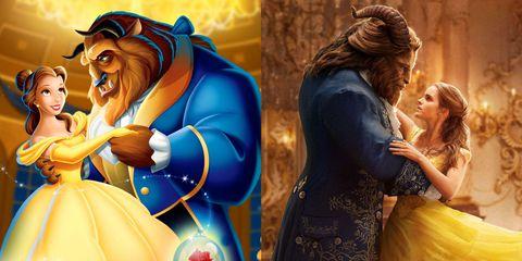 فیلم لایو اکشن و انیمیشن Beauty and the beast