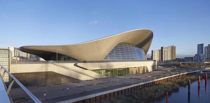 ۴. مرکز ورزشهای آبی لندن، انگلستان