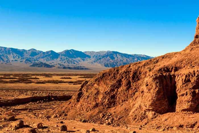 ۵. دره مرگ در کالیفرنیا، ایالات متحده آمریکا