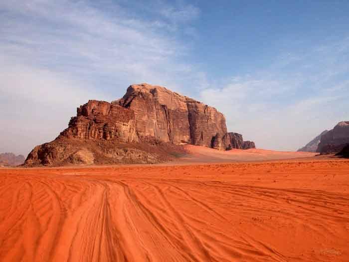 صحرای وادی روم، اردن
