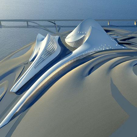 ۷. سالن اپرای دبی، امارات متحده عربی