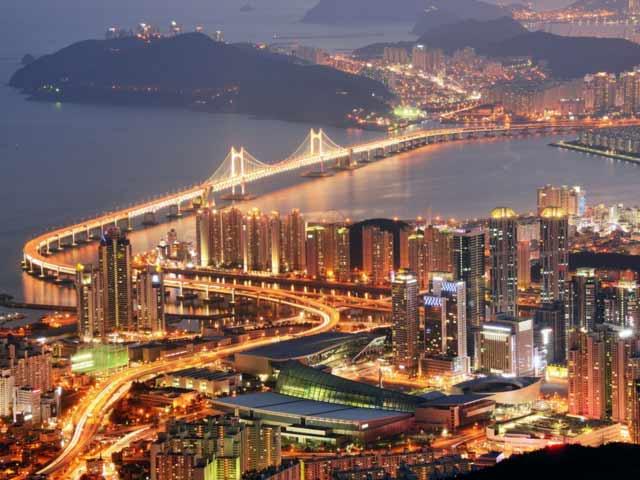 ۱۶. بوسان، کره جنوبی