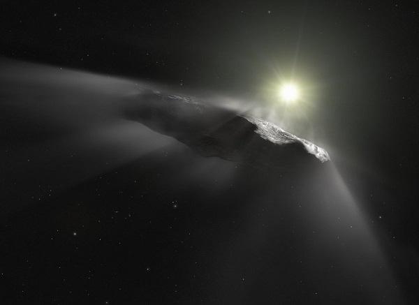 دنبالهدار Oumuamua