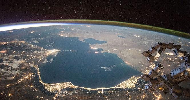 کاهش سطح آب دریای خزر ؛ بزرگترین دریاچه جهان یک متر پایین رفته است
