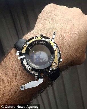 ساخت ساعت هوشمند توسط مبتکر ایرانی