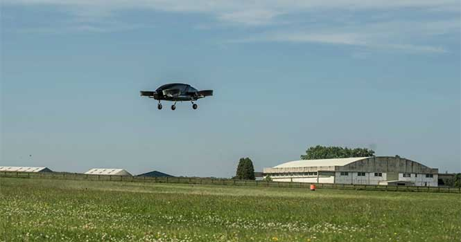آزمایش اولین تاکسی هوایی در انگلیس موفقیت آمیز بود