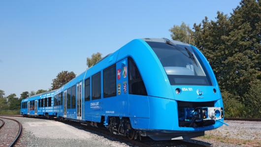 راه اندازی اولین قطار هیدروژنی جهان