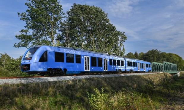 راه اندازی اولین قطار هیدروژنی