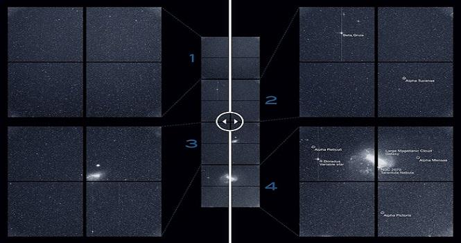 نخستین تصویر ماهواره تس (TESS) به زمین مخابره شد
