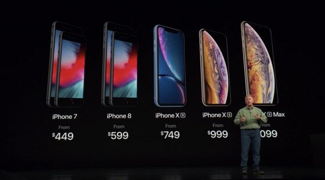 هزینه تعمیر آیفون XS Max و قیمت آیفون های جدید