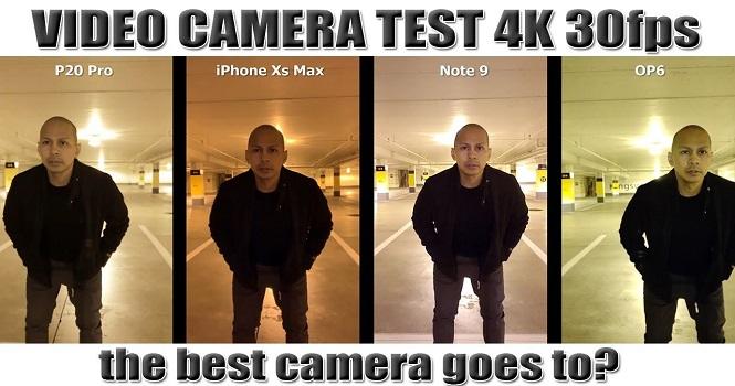مقایسه دوربین آیفون XS Max با گلکسی نوت ۹، وان پلاس ۶ و هواوی P20 پرو [تماشا کنید]