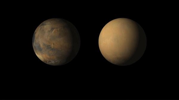 طوفان در مریخ