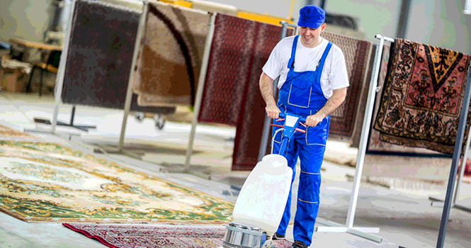 در کبال ، قالیشویی هم به شکل اینترنتی ممکن شد!
