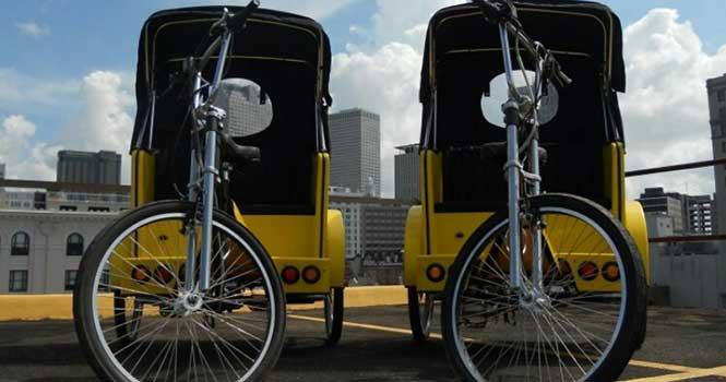 راهاندازی شبکه ملی تاکسی دوچرخه؛ استفاده از تاکسی دوچرخه در خیابانهای تهران