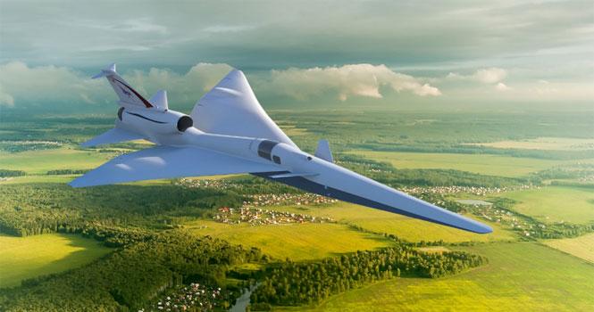 ساخت هواپیماهای مافوق صوت کم صدا توسط ناسا