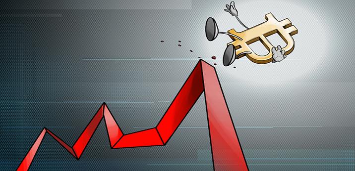 سقوط ارزش بیت کوین
