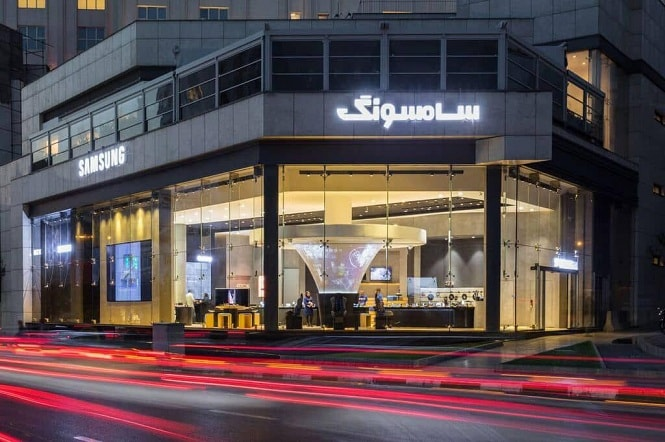 افتتاح بزرگترین فروشگاه سامسونگ در ایران