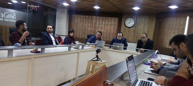 چهارشنبه 30 آذرماه 1397 جلسه هماهنگی داوری یازدهمین جشنواره وب و موبایل ایران برگزار شد