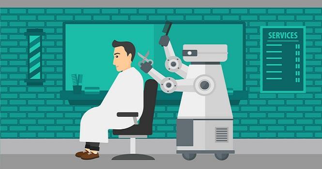 ساخت اولین ربات آرایشگر جهان توسط یک ایرانی