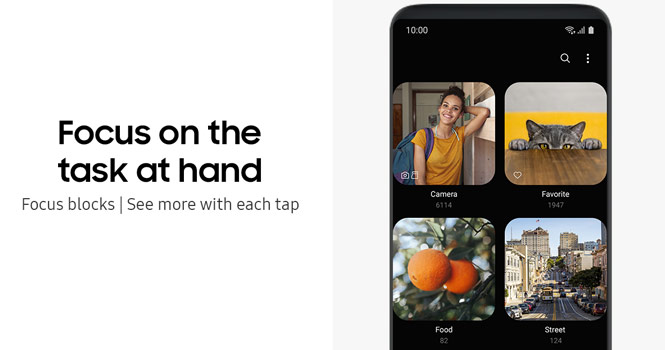 رونمایی سامسونگ از رابط کاربری جدید و نمایشگر تاشو برای گوشی هوشمند
