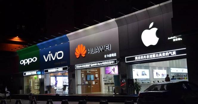 اوپو و هواوی در حال گسترش به بازارهای موبایل دنیا