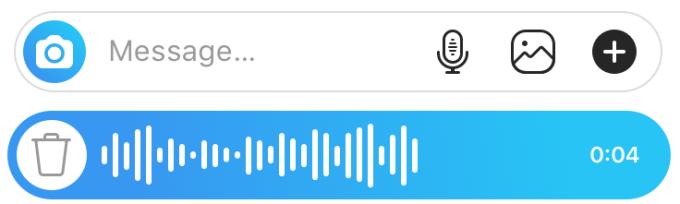 چت صوتی در اینستاگرام