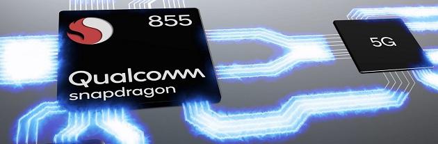 کوالکام در ساخت این پردازنده تمرکز اصلی را روی سرعت اینترنت و اتصال به شبکه های تلفن همراه و یا وای فای قرار داده است. پشتیبانی از شبکه 5G یکی از مهمترین مشخصات اسنپدراگون 855 است
