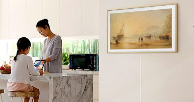 تلویزیونهای سری فریم سامسونگ قاب برترین آثار هنری جهان شدند