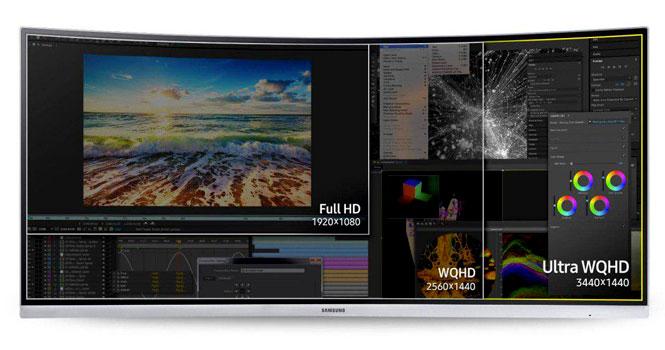معرفی و مشخصات نمایشگر C34F791 سامسونگ ؛ دستیار چندکاره ۳۴ اینچی برای همه