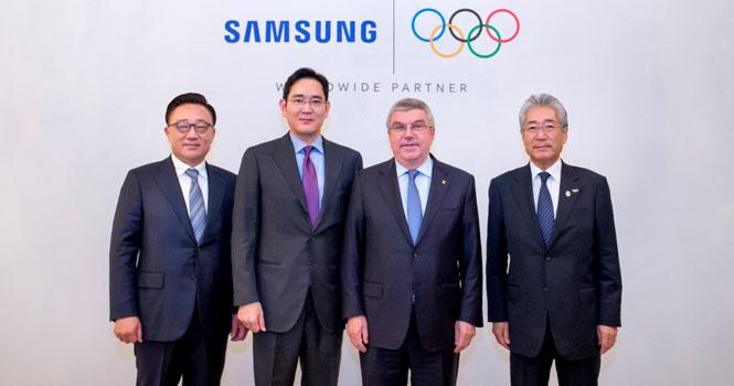 تمدید شراکت و همکاری سامسونگ با کمیته ملی المپیک تا سال 2028