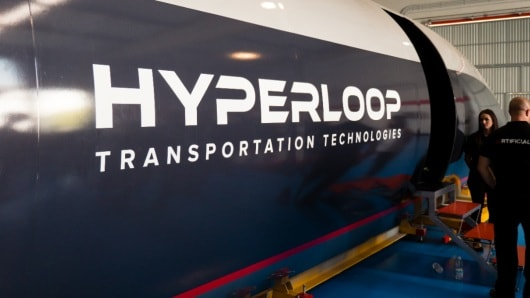 شرکت  Hyperloop Transport Technologies