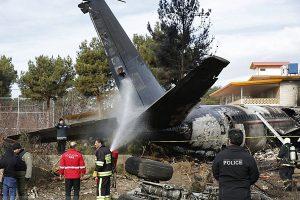 محل سقوط هواپیمای 707 باری