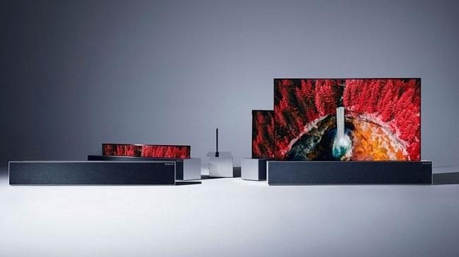 تلویزیون رول شونده ال جی که به LG Signature OLED TV R معروف است